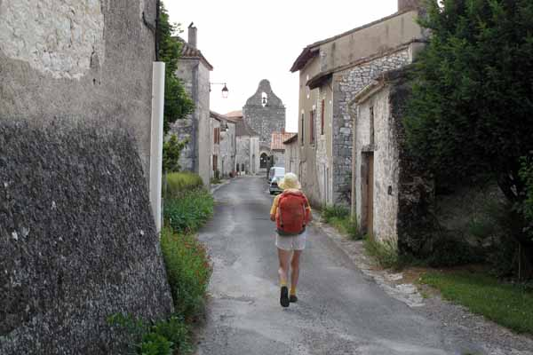 Walking in France: Arriving in Mandacou