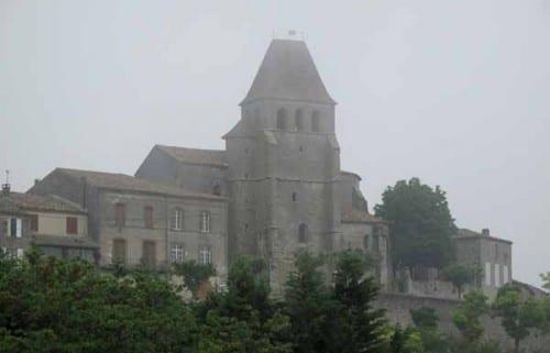 Walking in France: Leaving Saint-Pastour