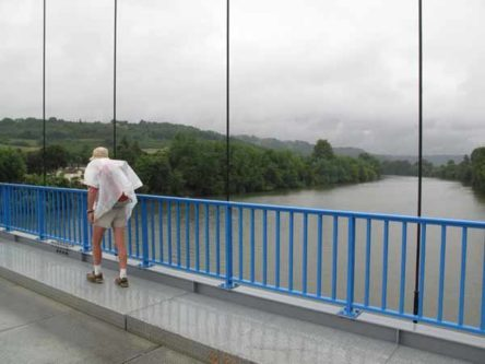Walking in France: Crossing the Lot at Roussanes