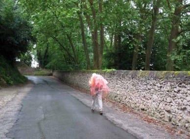 Walking in France: More rain as we left Barbaste