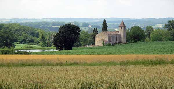 Walking in France: The lonely thirteenth-century chapel of Fousserie