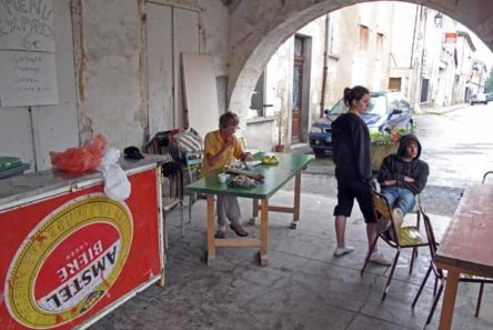 Walking in France: Out of the rain at the summer festival, and more teenage ennui