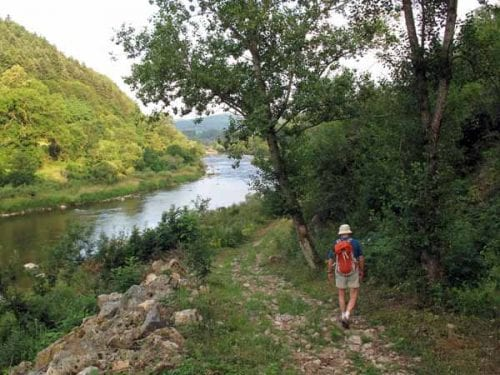 Walking in France: Following the GRP down to the Loire