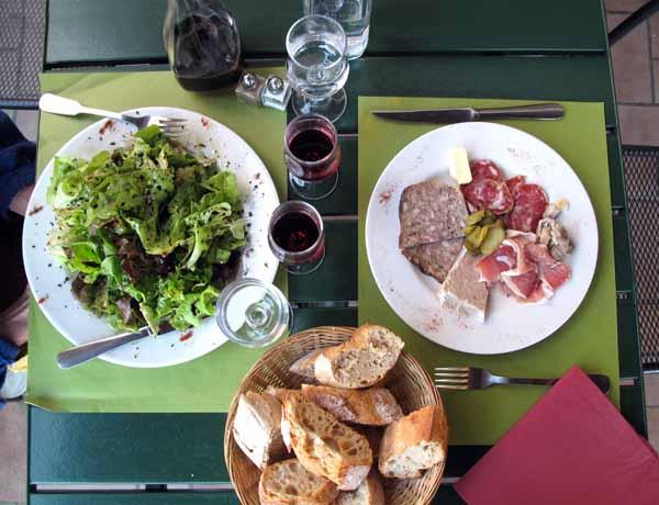 Walking in France: Our entrées