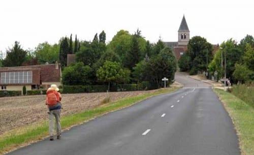 Walking in France: Arriving in Sainte-Thorette