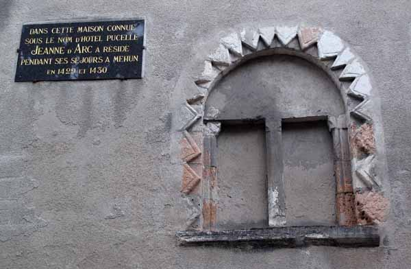Walking in France: Jeanne d'Arc stayed here