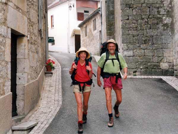 Walking in France: Leaving Montcuq