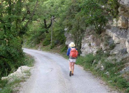 Walking in France: Leaving Sainte-Jalle