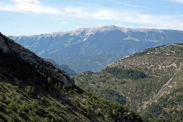 Walking in France: Mont Ventoux from the Col d'Ey