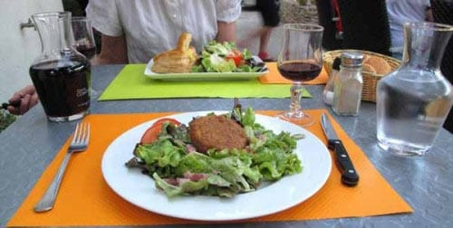 Walking in France: Our entrées ...