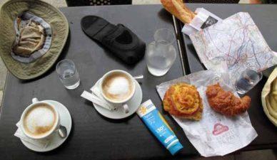 Walking in France: Second breakfast