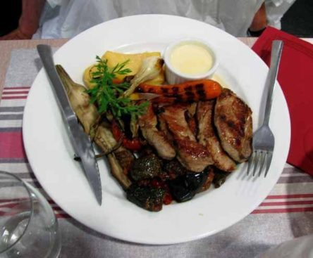 Walking in France: Jenny's filet mignon of pork