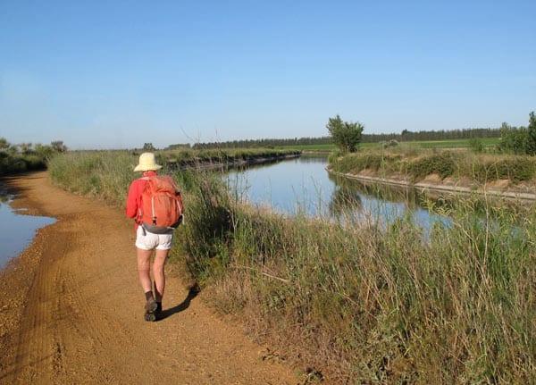 Walking in France: Beside the Canal d'Irrigation du Bas-Rhône Languedoc