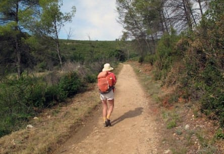 Walking in France: Nearing Grabels