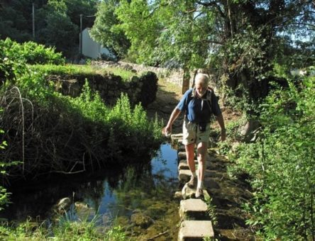 Walking in France: Not one of Keith's favourite activities