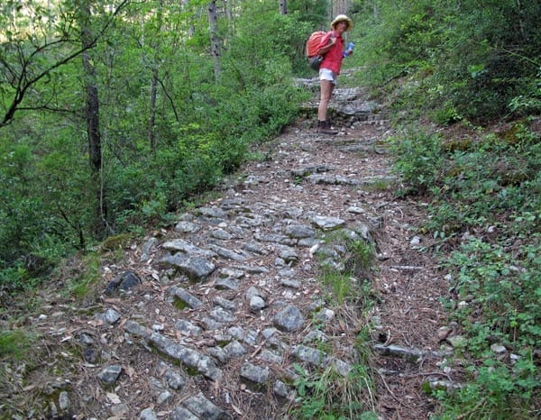 Walking in France: On an ancient mule track ...