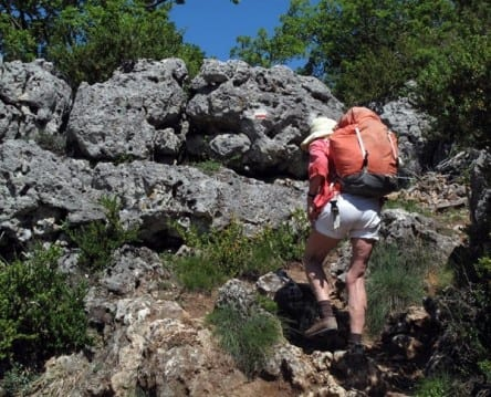 Walking in France: ... and over the karst