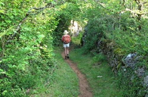 Walking in France: Heading for la Couvertoirade