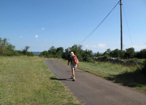 Walking in France: The short cut to la Blaquererie
