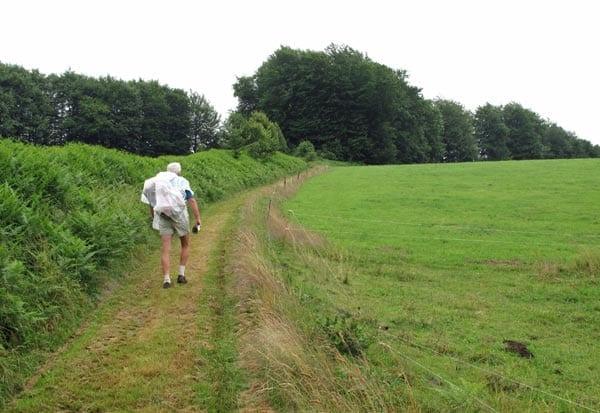 Walking in France: Near Lacelle