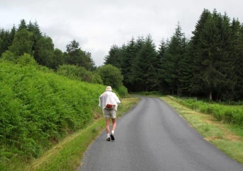 Walking in France: Raining again