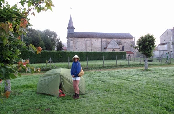 Walking in France: A cold start in Saint-Hilaire
