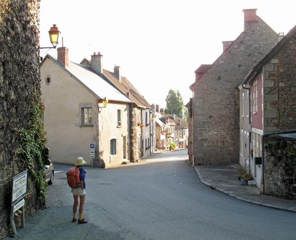 Walking in France: Leaving Moutier-d'Ahun