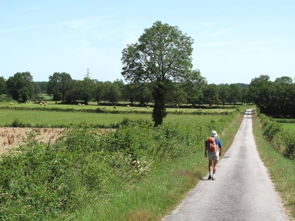 Walking in France: The small road to Pierrefitte