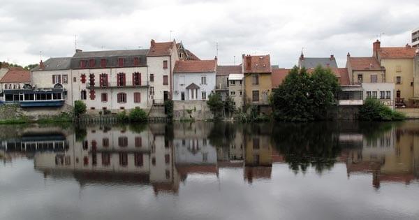 Walking in France: Finally, Montluçon