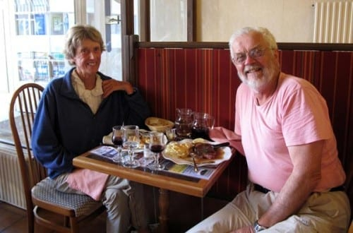 Walking in France: The end of this year's walk