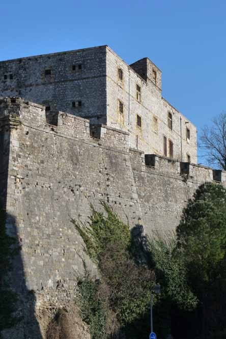 Walking in France: Fort of Vauban