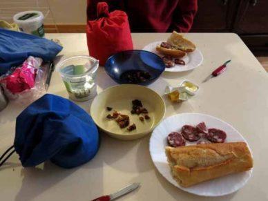 Walking in France: Fine dining in L'Affenadou
