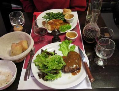 Walking in France: And our mains