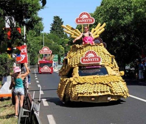 Walking in France: La caravane est arrivée!