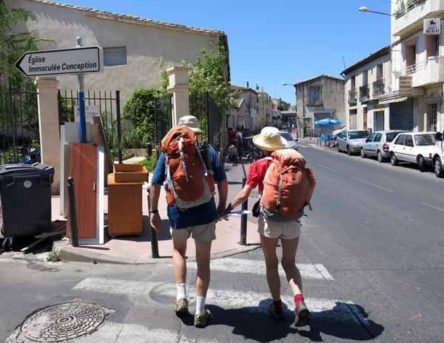 Walking in France: Setting off