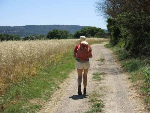 Walking in France: Finally out in the country
