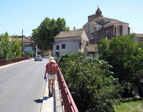 Walking in France: Arriving in Fabrègues
