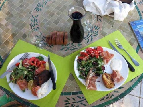 Walking in France: Unexpected delights for dinner