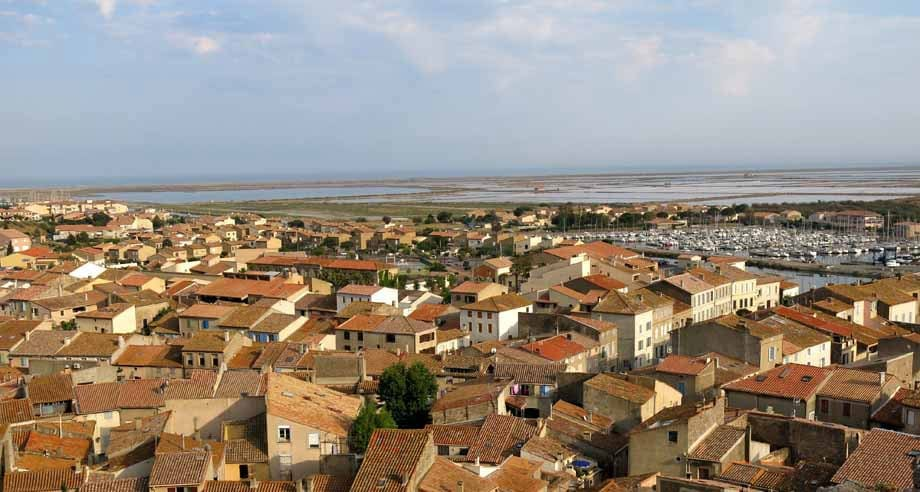Walking in France: The view from the tower
