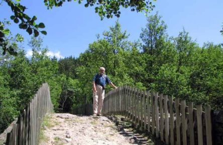 Walking in France: Crossing the Chassezac