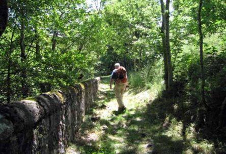 Walking in France: Beside the Chassezac