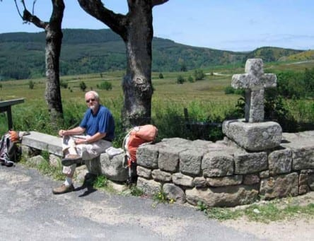 Walking in France: Bread and cheese in la Garde-Guérin