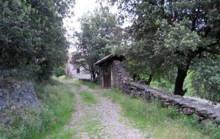 Walking in France: Arriving in St-André-Capcèze