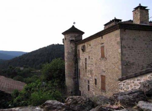 Walking in France: The château of Chambonnet