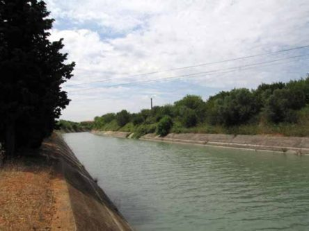 Walking in France: The Bas-Rhône-Languedoc canal