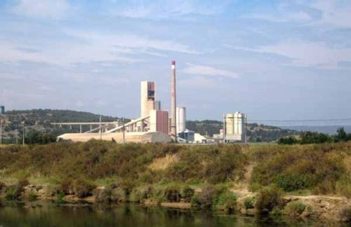 Walking in France: Cement factory, Port-la-Nouvelle