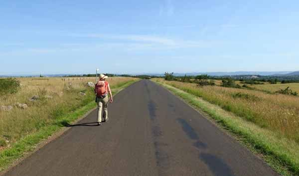 Walking in France: The road to Concourès