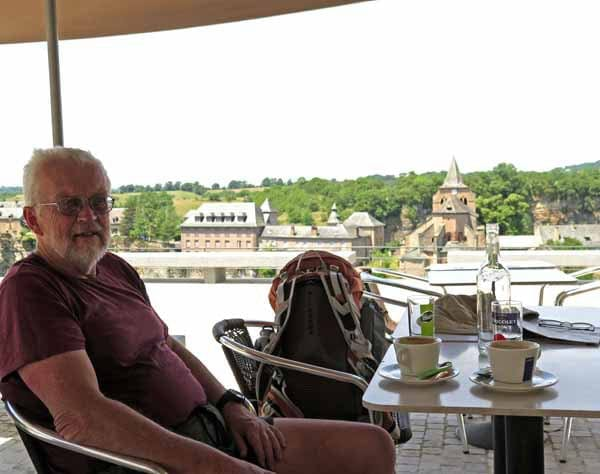 Walking in France: The restorative power of coffee