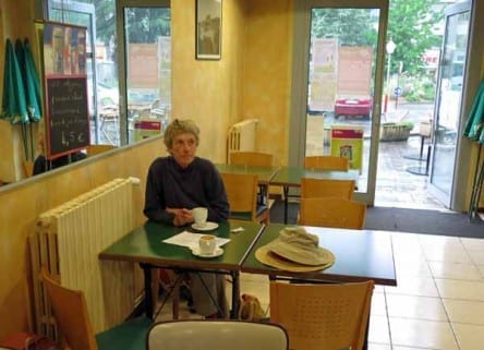 Walking in France: Second breakfast at the Rodez railway station