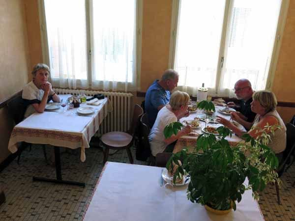 Walking in France: The dining room of le Glacier
